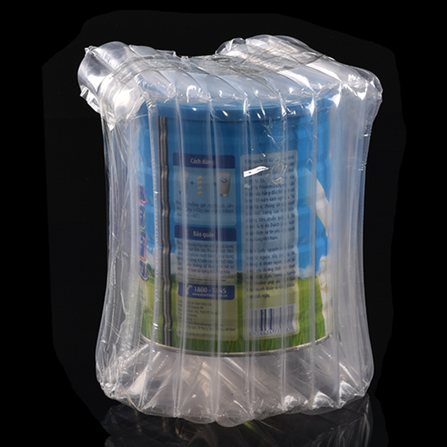 30pcs Lot Plastic Air Column Express Wrap Package Bubble Bag For Wine Milk 3 5 Hard Disk Shockproof Inflatable Cushion
