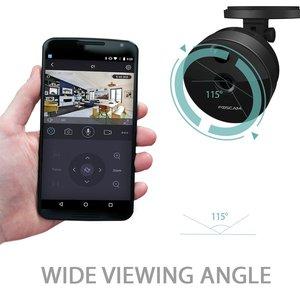 Image 2 - Foscam C1 IP Kamera Wireless 720P HD CCTV Indoor Sicherheit Kamera mit Nachtsicht Motion Erkennung Warnungen 2 weg Audio