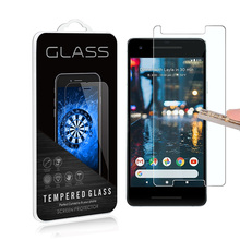 For Google Pixel 2 0.3mm 2.5D Anti Shatter 9H Tempered Glass Screen Protector Mobile phone LCD Skin Guard For pixel 2 XL