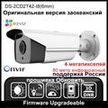 HIKVISION DS-2CD2T42-I8 (6mm) Versão Original Em Inglês 4MP Câmera IP ONVIF POE Full HD 1080 P IR 80 m Câmera de Segurança Ao Ar Livre HD 4 K