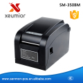 80mm Direct Thermal Barcode Printer Sticker Label Printer Barcode Label Printer  USB+Serial+LAN  Interface SM-350BM