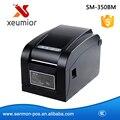 80mm Impresora de código de Barras Impresora de etiquetas de Etiqueta de código de Barras Impresora de Etiquetas Térmica Directa Interfaz USB + Serial + LAN SM-350BM