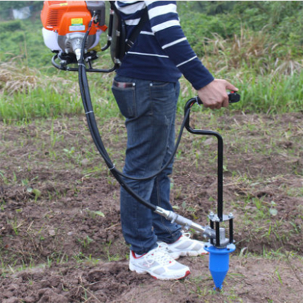 Portable 139 Engine Power Mower Tobacco Cultivation Tobacco Drilling Bit 4-stroke Mower Bear Tobacco Drilling Tool