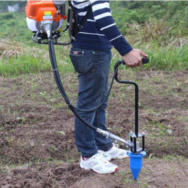 Nešiojamasis 139 varikliu varomas vejapjovės tabakas auginimo tabako gręžimo antgalis 4 taktų vejapjovė lokys Tabako gręžimo įrankis