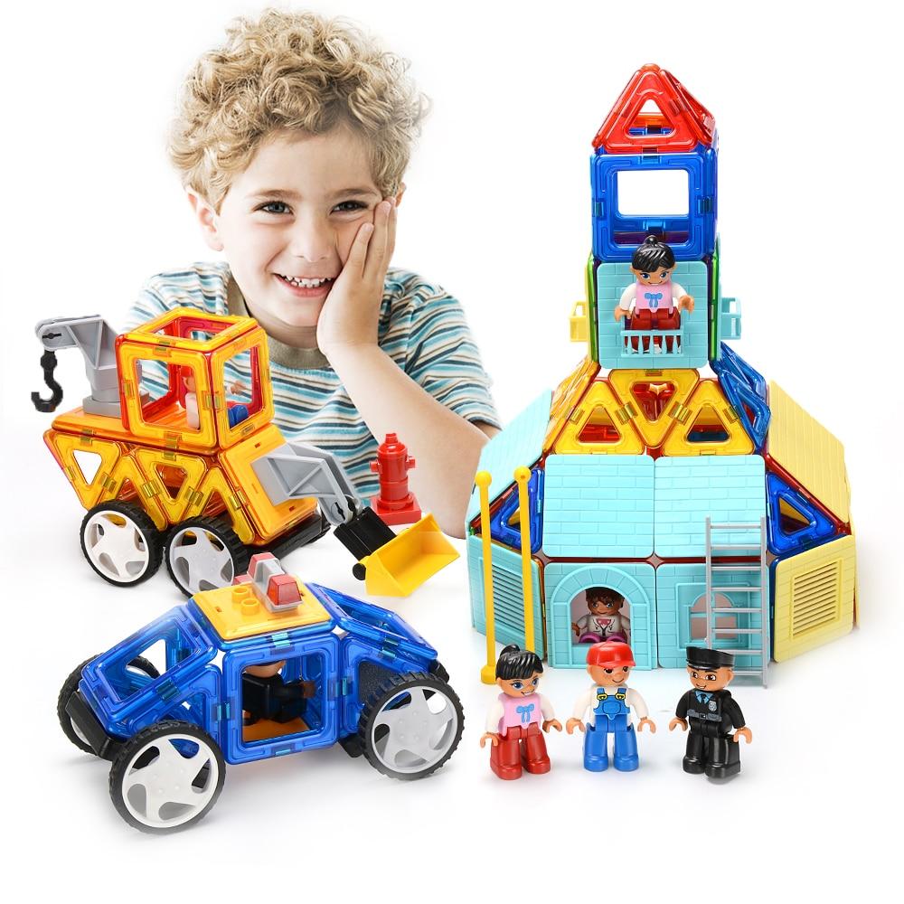 1 шт. большой размер один DIY магнитные строительные блоки для LOL подарок строительство магнит конструктор строительство Развивающие игрушки...