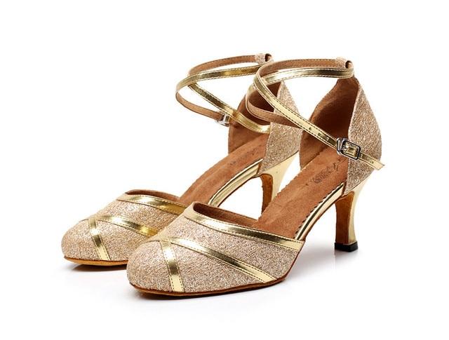 Pu Soft Outsole Latin Dance Shoes Women S Ballroom Dancing Party Wedding