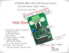 ACS758LCB 100B ACS758 0 100A AC DC current display meter