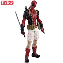 Deadpool filme DX Ver. EX 042 Dos Desenhos Animados Toy Action Figure Modelo Boneca de Presente(China)