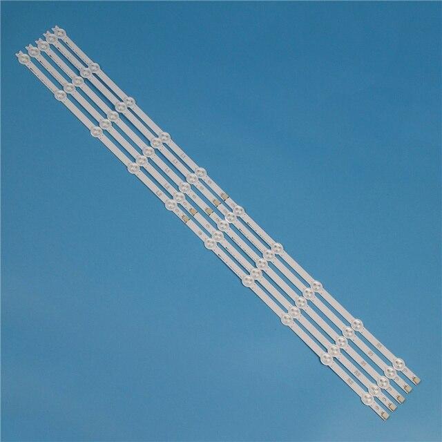 10 מנורות 820mm LED תאורה אחורית רצועת ערכת עבור LG 42LN6138 42LN613 42LN6108 42 inchs טלוויזיה מערך LED רצועות תאורה אחורית ברים אור להקות