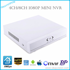 New 8CH & 4CH 2MP P2P NVR for IP Camera Support XMEye CMS ONVIF Cloud System H.264 P2P Onvif 1080P NVR with HDMI and VGA Output