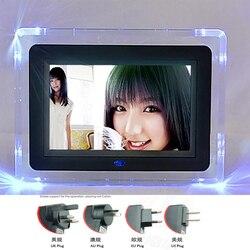 7 inch digital photo frame hd electronic photo album ultra-thin portable lcd screen wedding photo digital frame gift