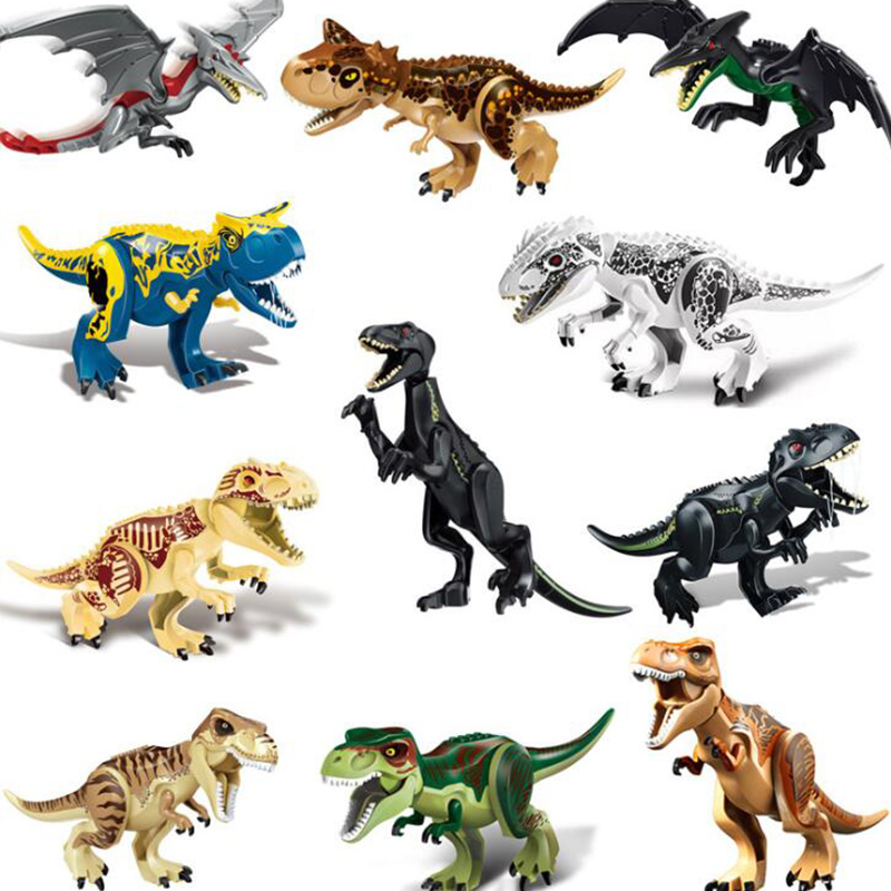 Legoing Jurassic Dinosaur World 2 Park Building Blocks Figures Tyrannosaurus Indominus Rex Indoraptor kid Toys For ChildrenLegoing Jurassic Dinosaur World 2 Park Building Blocks Figures Tyrannosaurus Indominus Rex Indoraptor kid Toys For Children
