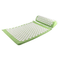 Acupressure Mat Relieve Stress Pain Acupuncture Spike Yoga Mat With Massage Pillow