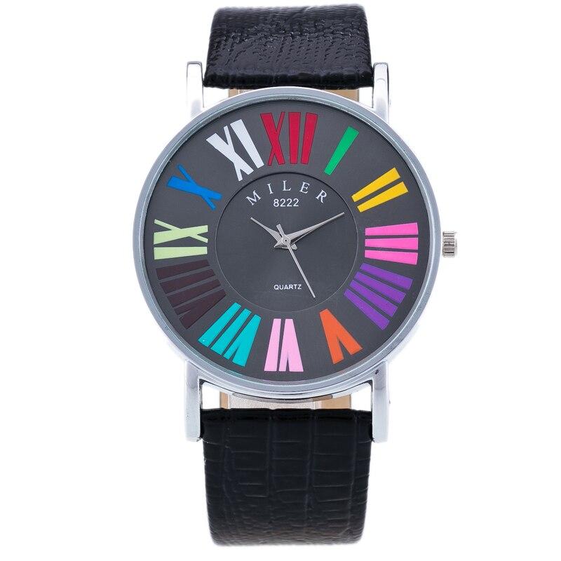 Fashion Women Quartz Watch Multicolor Casual Brand Wa
