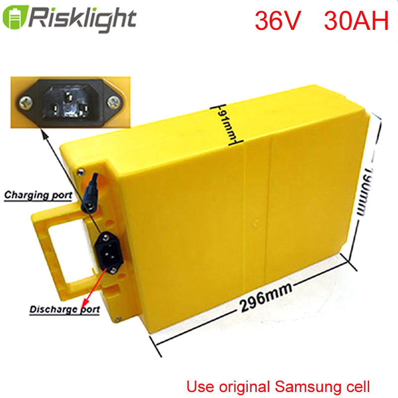 36V 1000W electric bike battery 36v 30ah electric bicycle battery 36v 30ah lithium battery + Waterproof case For Samsung cell diy 48v 1000w samsung cell electric bike lithium battery 48v 30ah li ion 18650 battery with 30a bms for e bike battery