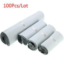100 шт./лот Пластиковый Конверт самоклеющиеся курьерские Сумки для хранения пластик поли конверт для отправки Почтовая доставка сумки