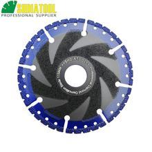 SHDIATOOL 1 pc Vacuum Soldadas Diamante lâmina de corte multiusos disco de Aço Vergalhão de Ferro Fundido de Alumínio Plástico PVC Pedra viu lâmina
