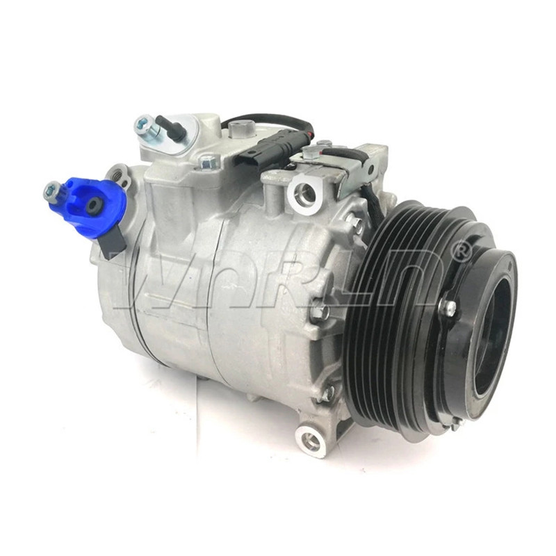 US $149 52 11% OFF|Auto car air conditioner AC compressor 7SBU16C for BMW  X3 750iL E83 1998 2004 6918749 64526918749-in Air-conditioning Installation