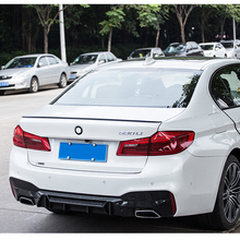 цена на ABS Plastic Unpainted Primer Color Rear Trunk Boot Wing Spoiler For BMW G30 G38 M5 520i 528i 535i 530i 525i Spoiler