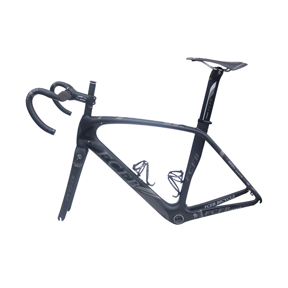 2017 FCFB közúti kerékpár Pro01 közúti szénkeret 49/52/54 / - Kerékpározás