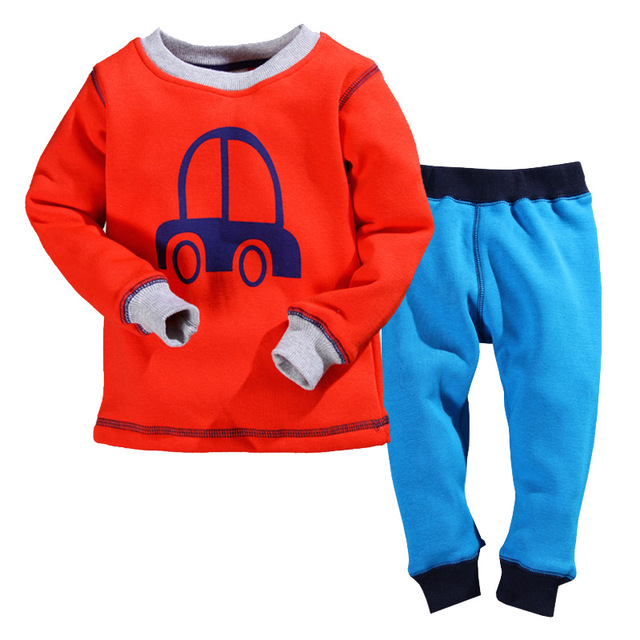 Aliexpress.com : Buy organic cotton boys thermal underwear pajamas ...