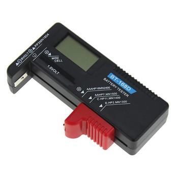 2019 cyfrowy tester baterii BT168D elektroniczny kontroler mocy baterii dla 9V 1 5V AA AAA komórka C D tanie i dobre opinie keweisi Elektryczne Tester Baterii gospodarstwa domowego