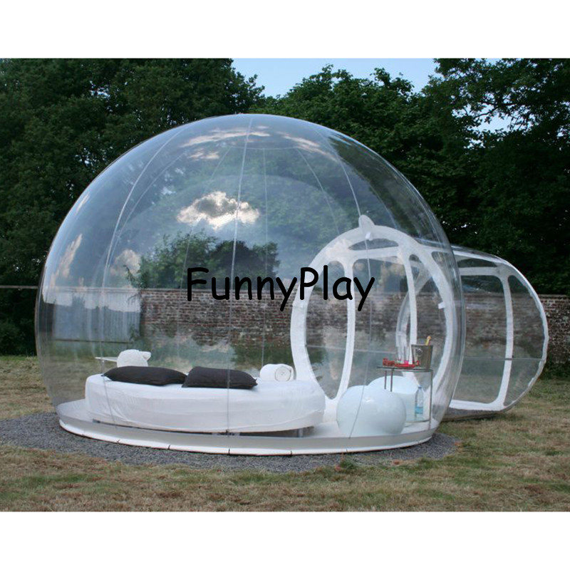 Outdoor C&ing Bubble TentInflatable Bubble lawn Roominflatable Transparent c&ing house tentsinflatable clear dome tent-in Tents from Sports ...  sc 1 st  AliExpress.com & Outdoor Camping Bubble TentInflatable Bubble lawn Roominflatable ...