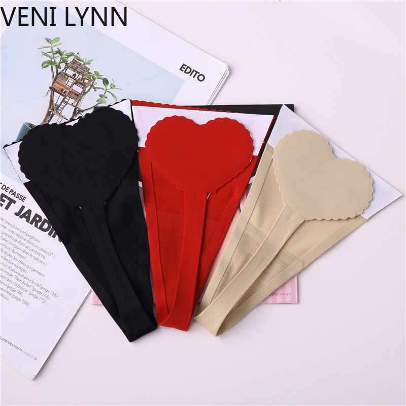 4eb87bf93847 VENI LYNN Sex C String Panties Lingerie Women Sexy Heart Plus Size Underwear  Panty Open Thong