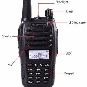Image 2 - 2PCS BaoFeng UV B6 Portable Walkie Talkie UV B6 Two Way Radio Dual Band VHF/UHF Woki Toki 5W FM Radio Transceiver