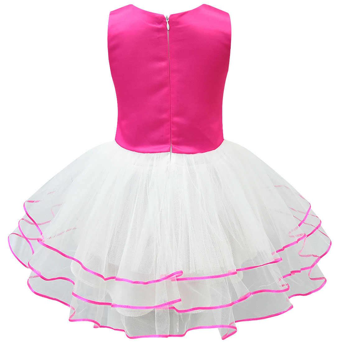 Новое платье для девочек с сюрпризом; детская сетчатая многослойная юбка с рисунком; детское платье принцессы; костюм куклы с героями мультфильмов