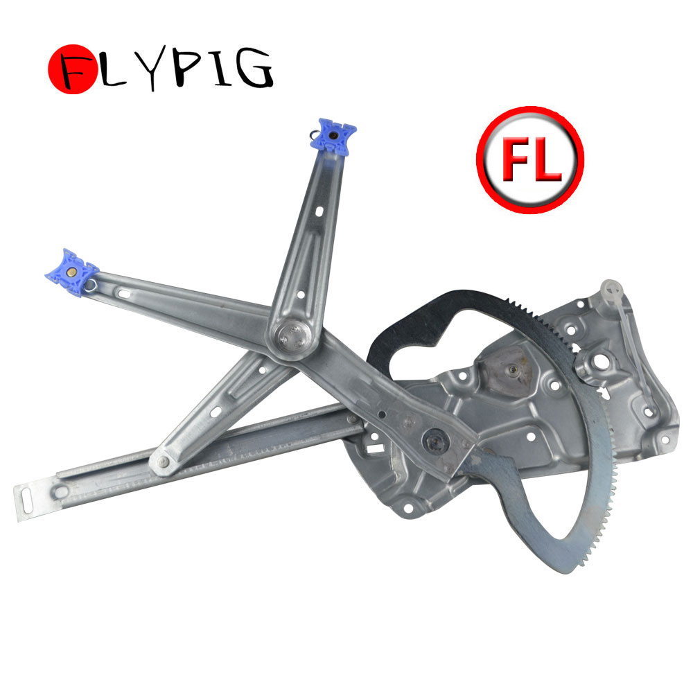 Front Power Window Regulator Driver Side Left LH NEW For BMW 3 Series E36