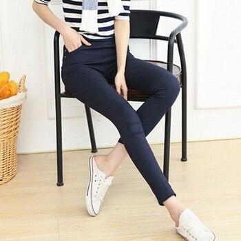 Rihschpiece 2018 Winter Plus Size 6XL Leggings Women Pants Black Punk Thick Jeggings Fashion High Waist Legging Trousers RZF1403 3