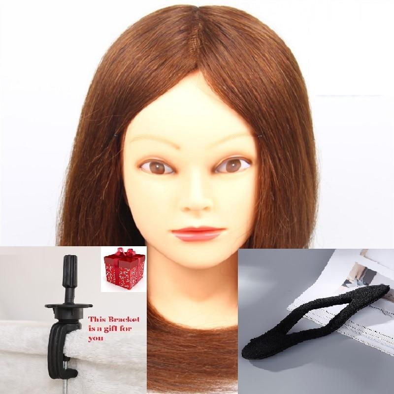 CAMMITEVER Maniquí cabeza con soporte para herramientas cabello - Artes, artesanía y costura
