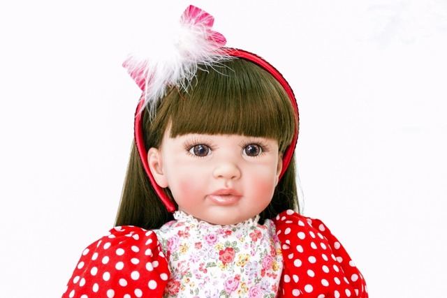 Silicone Reborn Baby Doll Toys 60cm Princess