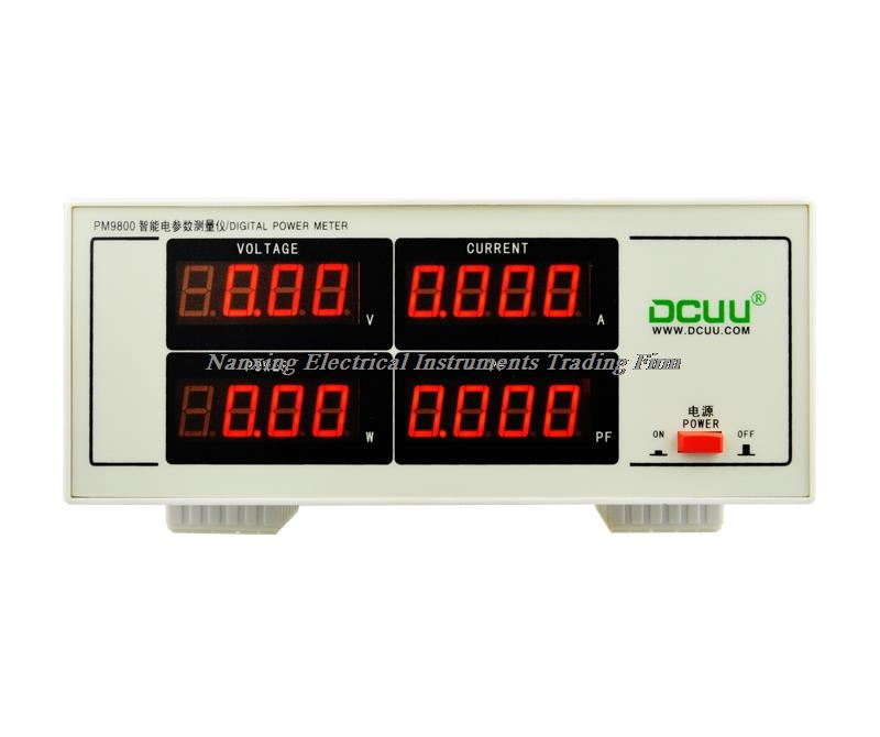 Fast arrival PM9800 ACVoltage Current Power Factor & Power Meter 300V,20A Tester Perfect replacement PF9800