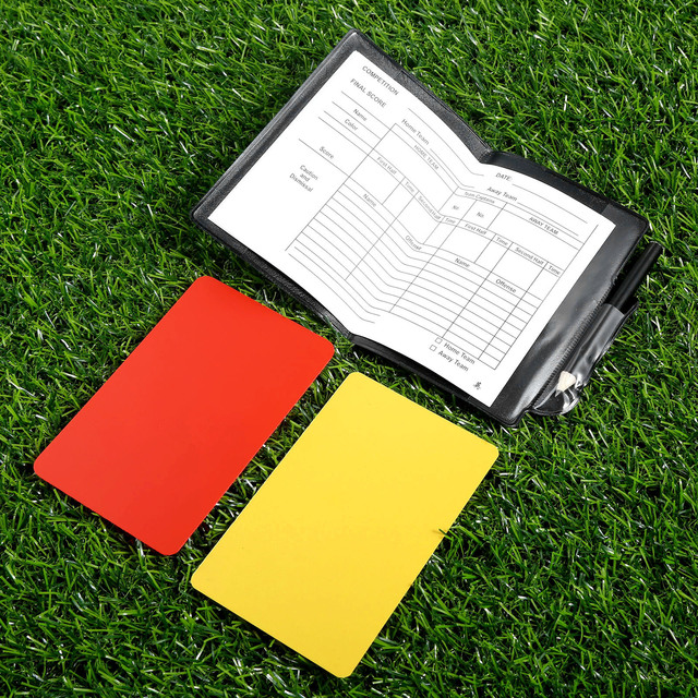 Referee Notebook With Cards