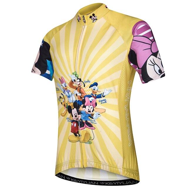 Children riding a bike short-sleeved summer bike mountain sportswear boy  girl jersey riding f13d6b65f