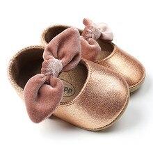 Красная Детская полиуретановая обувь для младенцев для тех, кто только начинает ходить, с бантом, женская обувь на плоской подошве, для новорожденных, для детей, для девочки тапки, согрейте вашего малыша! Мокасины