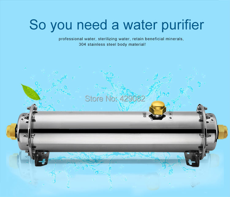 Water filter cartridge quick connection 1000L/H ultrafiltration water purifier for house use o2 spas rising dragon escape c50 pool filter cartridge element 345x125mm