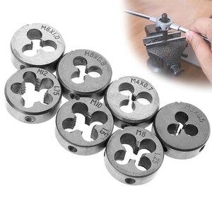 Image 5 - Zestaw gwintowników metrycznych ze stali stopowej 20 sztuk/32 sztuk M3 M12 narzędzie do gwintowania stali stopowej z futerał do przechowywania do obróbki metalu