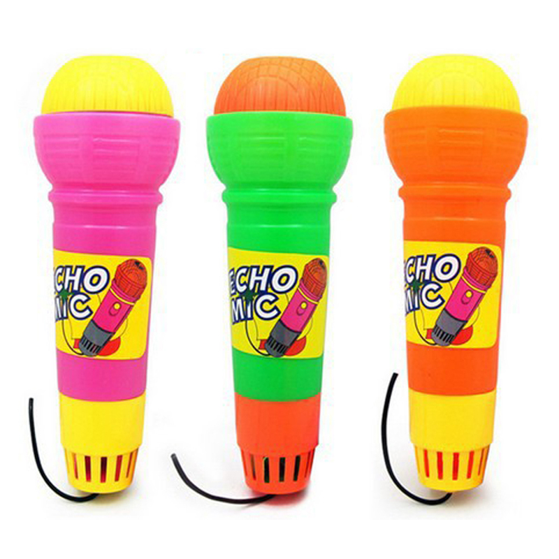 2019 New Echo Microphone Mic Voice Changer Toy Gift Birthday Present Kids Party Song Learning Toys For Children