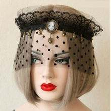 1PCS Hot Sales Black Sexy Lady Lace Mask Eye Mask For Masquerade Party Fancy Dress Costume For Halloween Party  High Quality