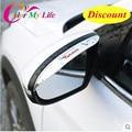 Hot Car-Capas de Espelho Retrovisor Capa Espelho Retrovisor Etiqueta Do Carro Viseira Chuva Para Hyundai New Tucson 2015 2016 Acessórios do carro