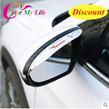 Hot Car-Covers Rearview Mirror Cover Rear View Mirror Sticker Car Rain Visor For Hyundai New Tucson 2015 2016 Car Accessories