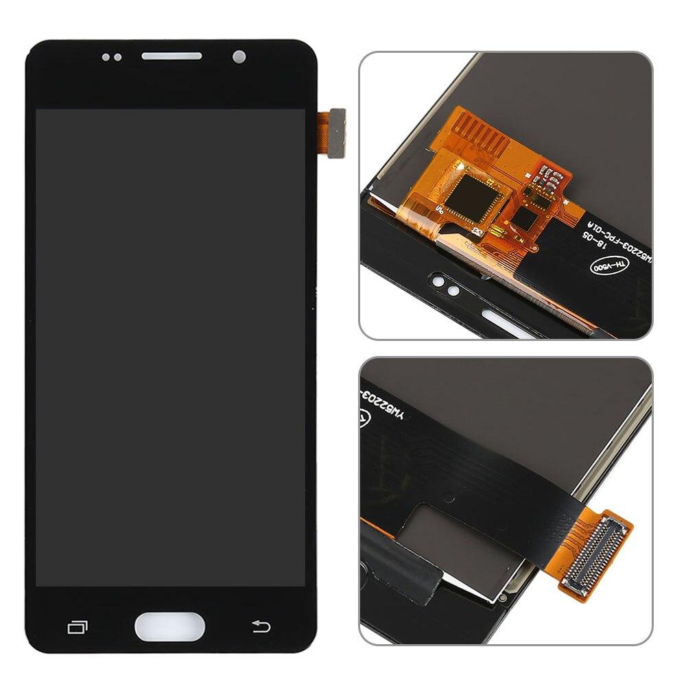 Sinbeda Super AMOLED Pour Samsung Galaxy A5 2016 A510 A510F écran lcd écran tactile ensemble de digitaliseur pour Samsung A510