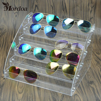 d202fc58480852 6 Tiers New Promotion Makeup Cosmetic Clear Acrylic Organizer Lipstick  Sunglasses Jewelry Display Stand Holder Nail
