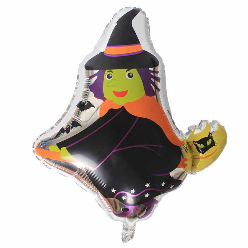 Черный кот Тыква фольгированные шары животные цифры баллоны с гелием Дети День рождения Хэллоуин вечерние украшения Воздушные шары события вечерние игрушки