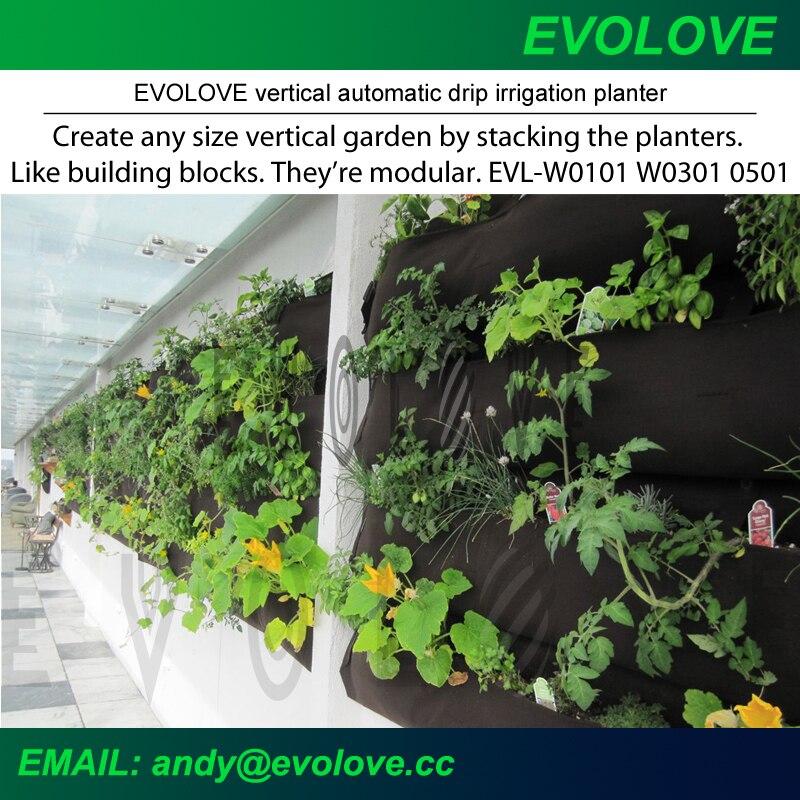 Superieur Drip Irrigation System For Vertical Garden Living Green Wall Modular  Hanging Planter Grow Bag In Flower Pots U0026 Planters From Home U0026 Garden On  Aliexpress.com ...