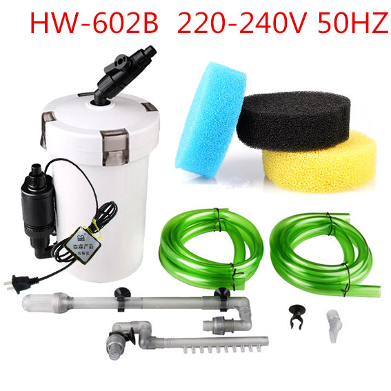 SUNSUN Brand New 6W External Canister Filter Table Top Aquarium Fish Tank 400L h 220V 110V