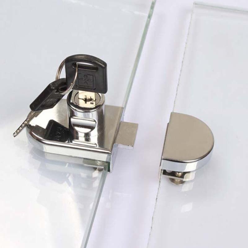 Aliexpress.com : Buy Hot 8sets Double Open Glass Cabinet Lock ...
